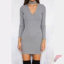 Awsome casual midi dress160