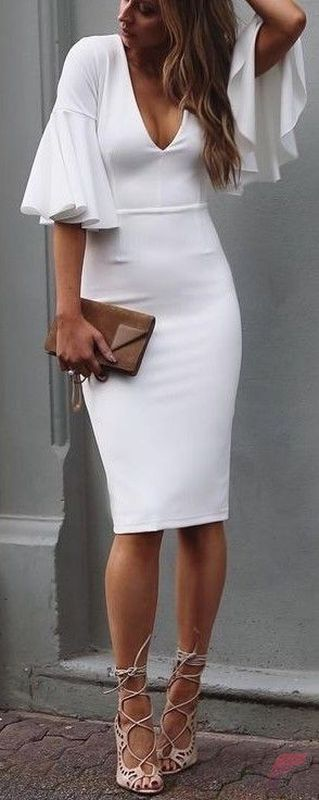 Awsome casual midi dress17
