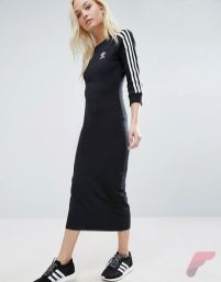 Awsome casual midi dress171