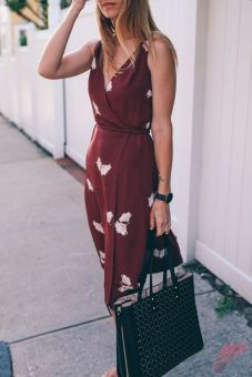 Awsome casual midi dress188