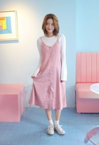 Awsome casual midi dress193