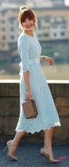 Awsome casual midi dress213