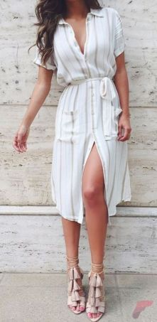 Awsome casual midi dress216