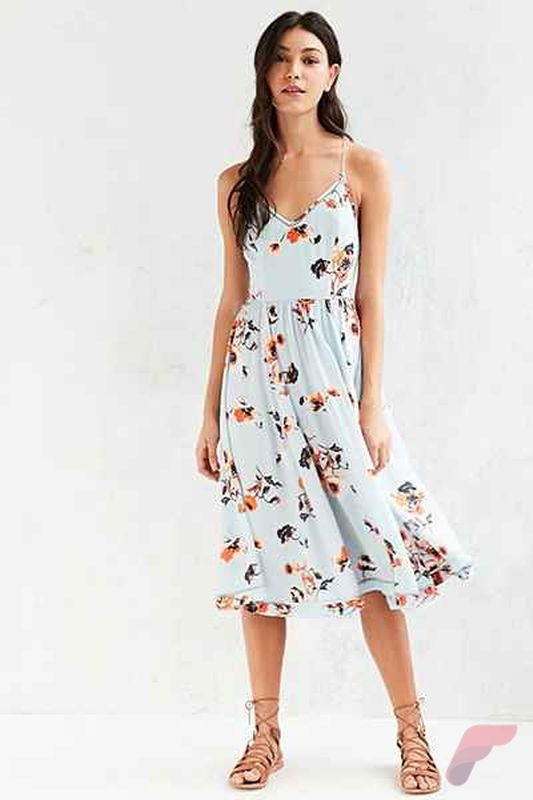 Awsome casual midi dress41