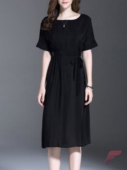 Awsome casual midi dress46