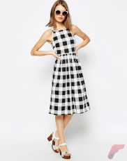 Awsome casual midi dress57