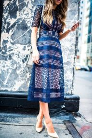 Awsome casual midi dress61