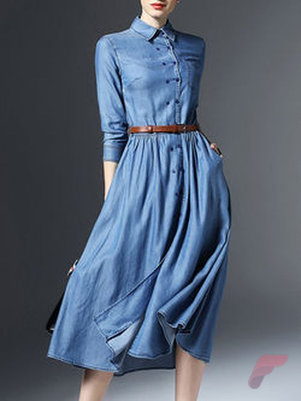 Awsome casual midi dress8