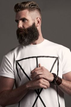 Best men short beard and mustache style 15