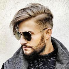 Best men short beard and mustache style 43