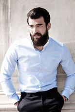 Best men short beard and mustache style 59