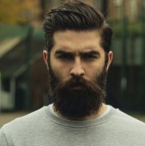 Best men short beard and mustache style 6