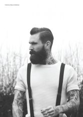 Best men short beard and mustache style 60