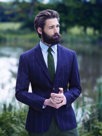 Best men short beard and mustache style 8