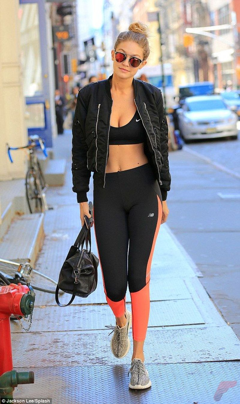 Celebrity workout style 16