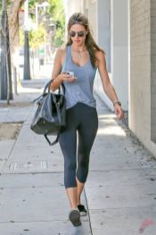 Celebrity workout style 55