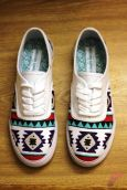 Custom painted vans shoes 3