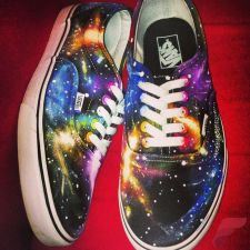 Custom painted vans shoes 32