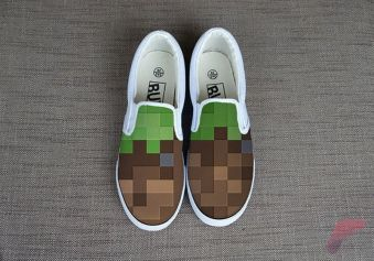 Custom painted vans shoes 35