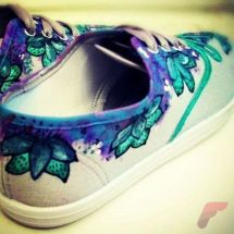 Custom painted vans shoes 58