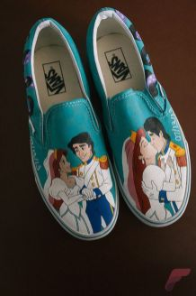 Custom painted vans shoes 73