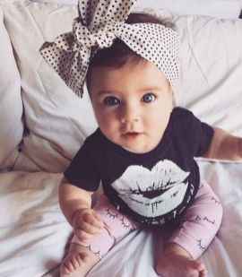 Cutest baby girl clothes outfit 29