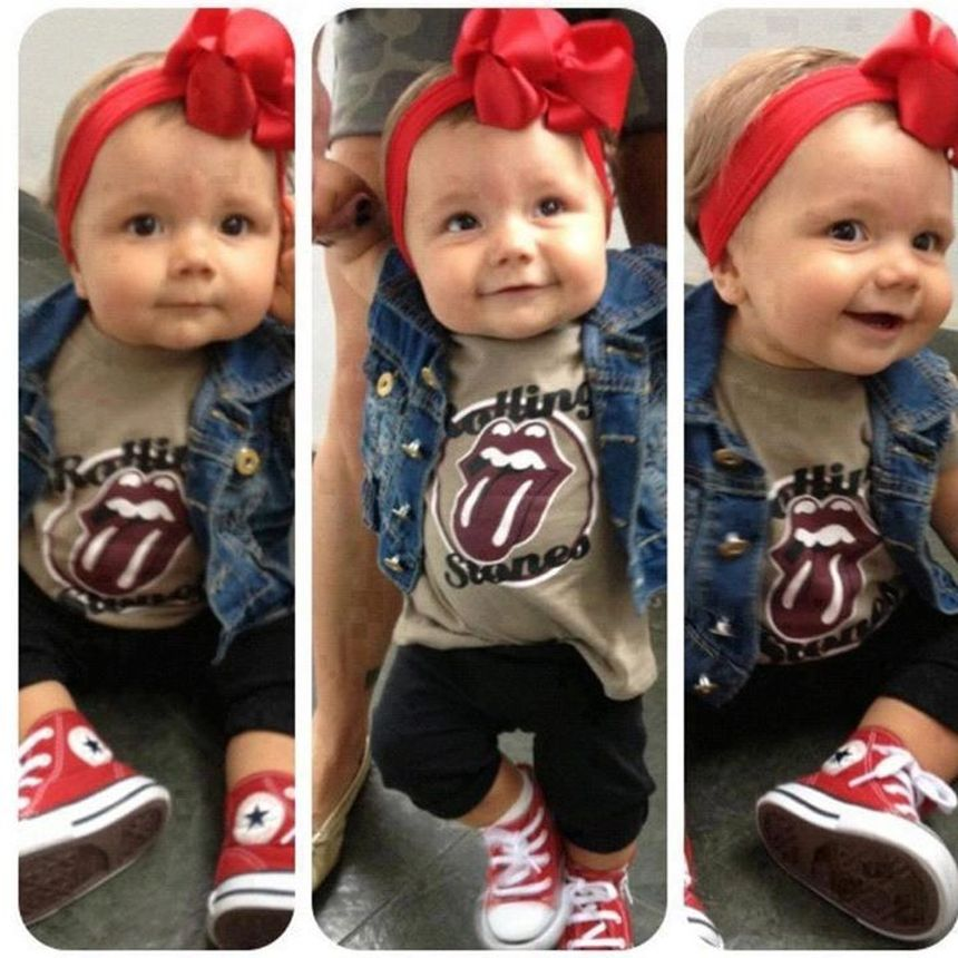 Cutest baby girl clothes outfit 36