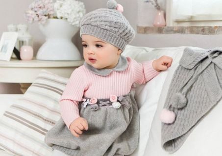 Cutest baby girl clothes outfit 4