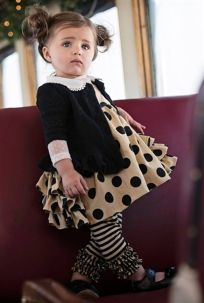 Cutest baby girl clothes outfit 41