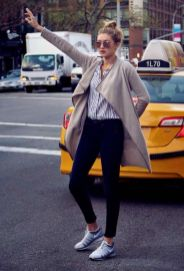 Gigi hadid sneakers outfit on the street 31