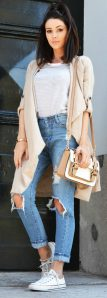High waisted jeans outfit style 118