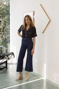 High waisted jeans outfit style 17