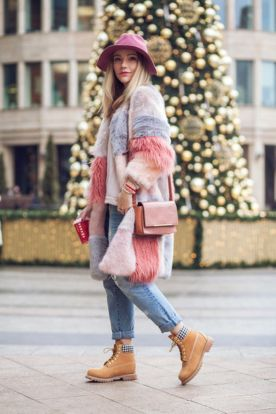 Ideas how to wear timberland boots for girl 11