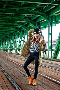 Ideas how to wear timberland boots for girl 27