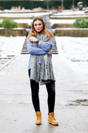 Ideas how to wear timberland boots for girl 47