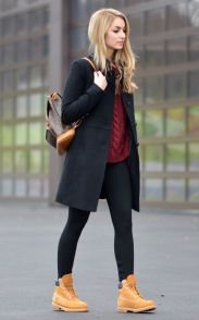 Ideas how to wear timberland boots for girl 60
