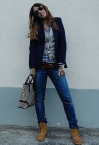 Ideas how to wear timberland boots for girl 68