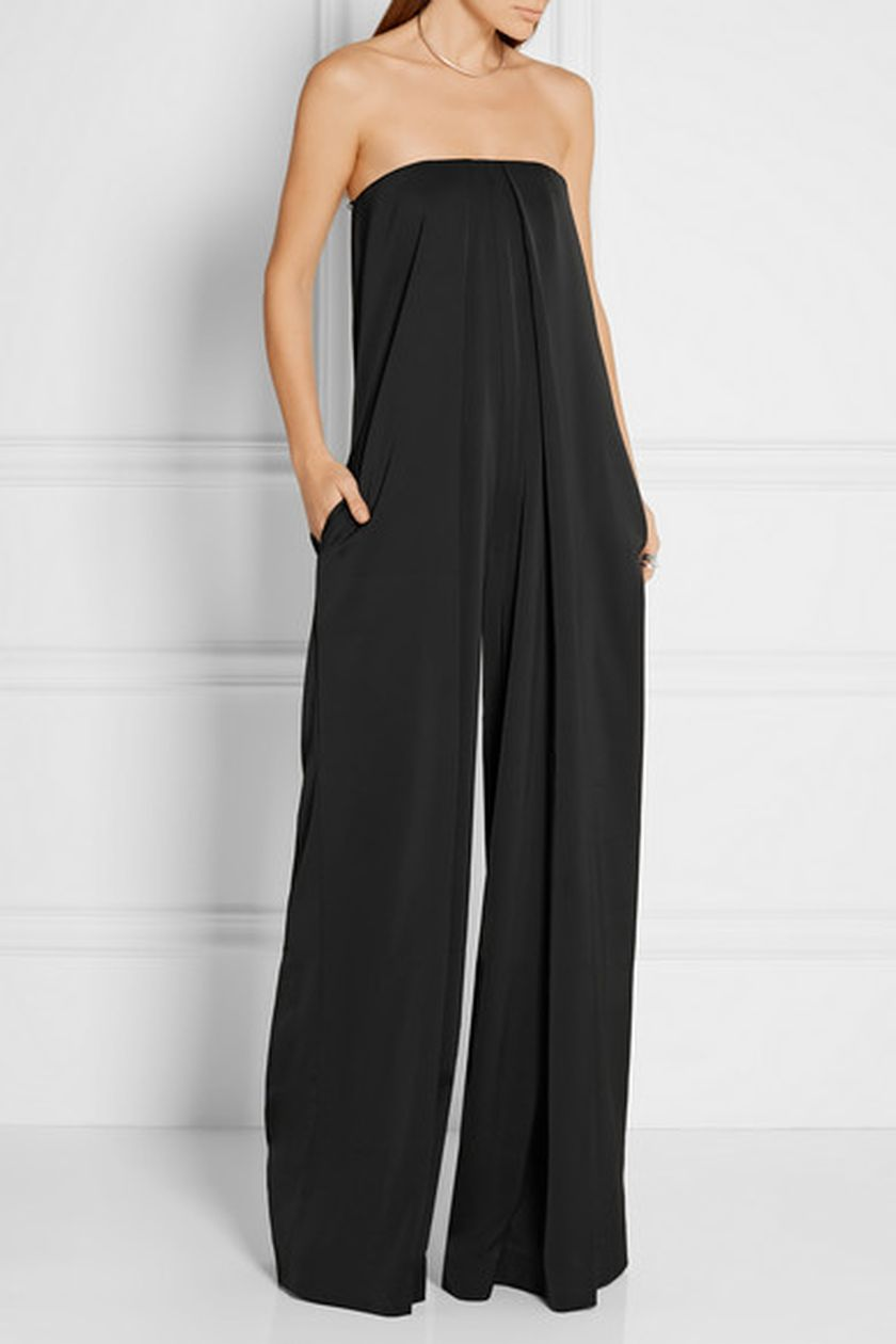 Jumpsuits strapless outfit 35