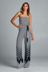 Jumpsuits strapless outfit 38