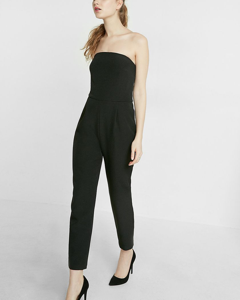 Jumpsuits strapless outfit 51