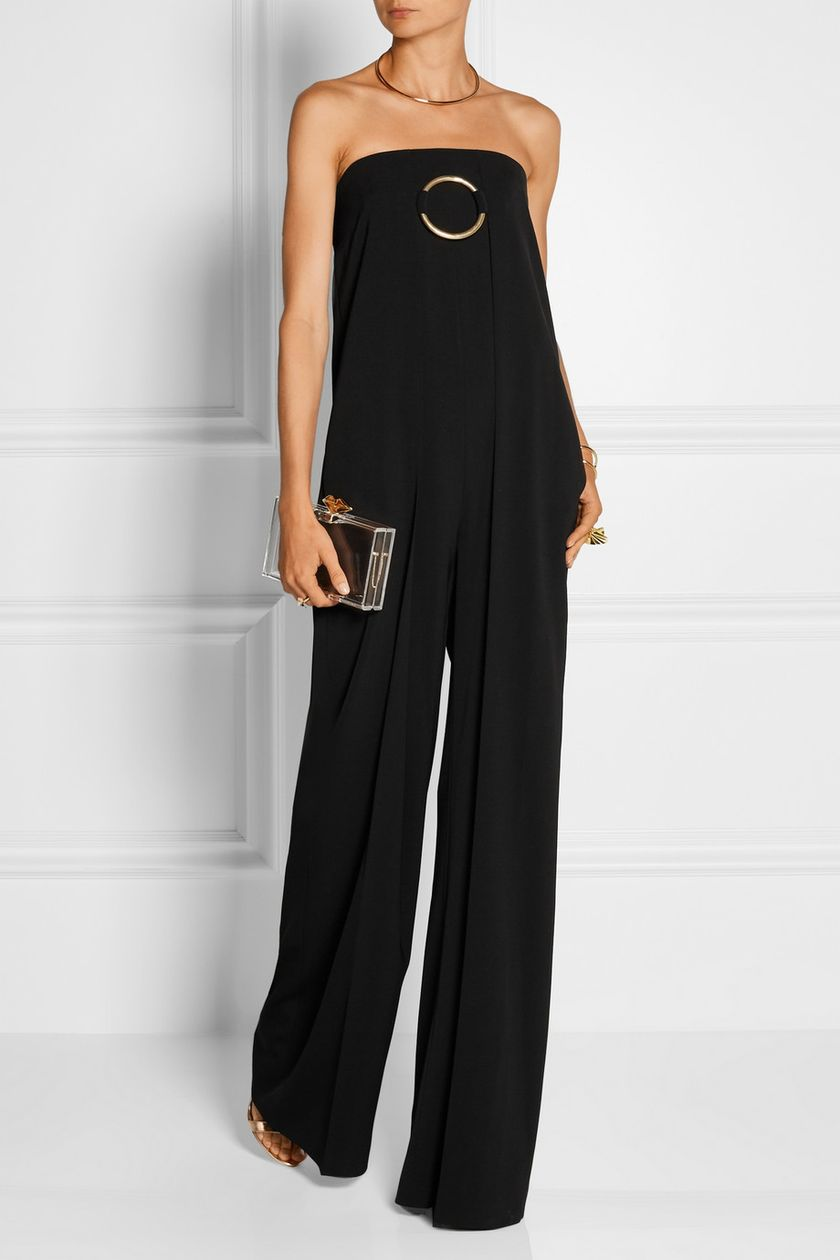 Jumpsuits strapless outfit 68