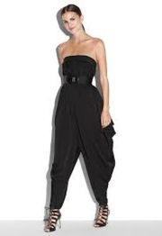 Jumpsuits strapless outfit 8