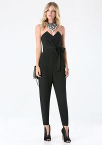 Jumpsuits strapless outfit 98
