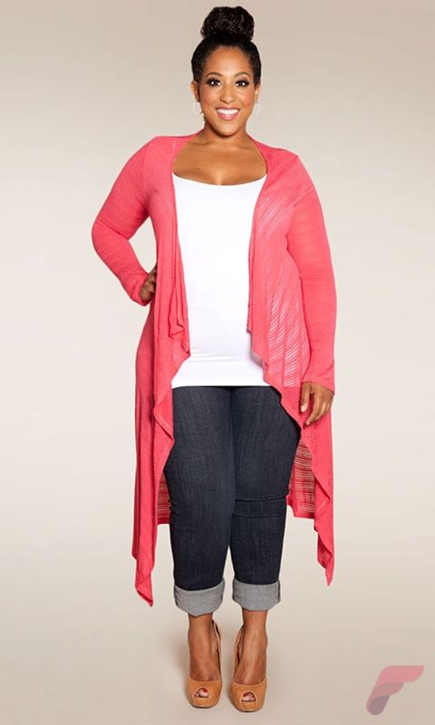 Layering outfits plus size sweaters 16