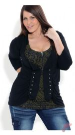 Layering outfits plus size sweaters 25