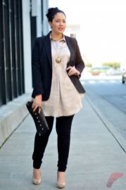 Layering outfits plus size sweaters 27