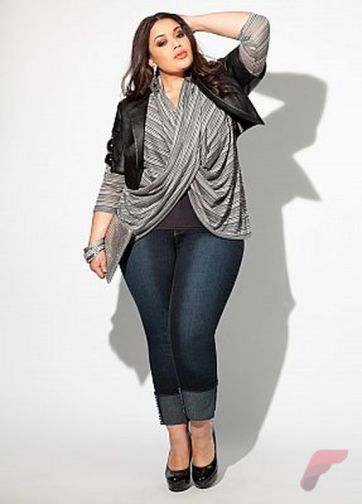 Layering outfits plus size sweaters 3