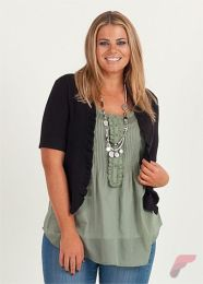 Layering outfits plus size sweaters 34