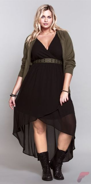 Layering outfits plus size sweaters 42