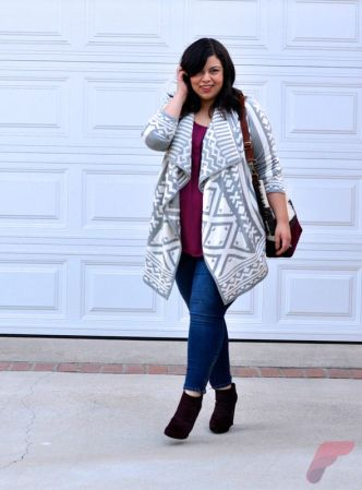 Layering outfits plus size sweaters 56